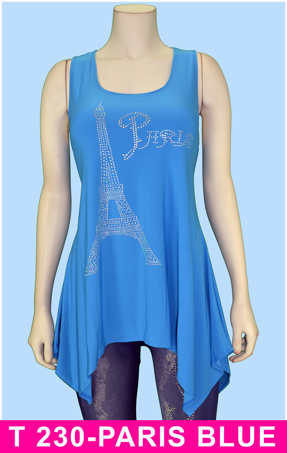 T 230-PARIS BLUE